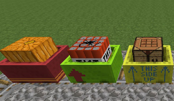 Cart Livery Mod para Minecraft 1.7.2 y 1.7.10