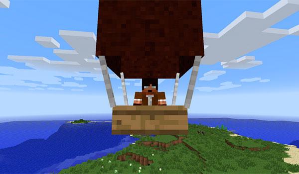 Pchan3's Airship Mod para Minecraft 1.7.2 y 1.7.10