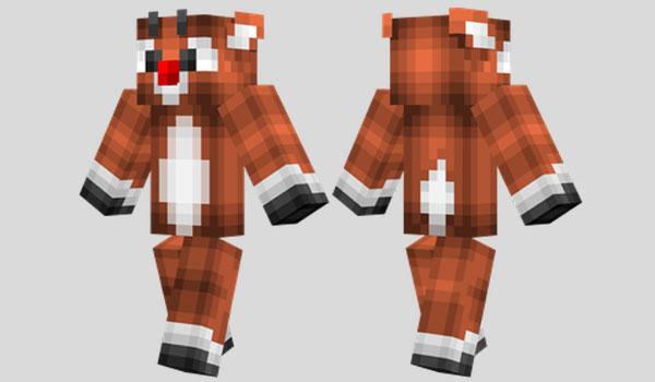 Rudolph Skin para Minecraft