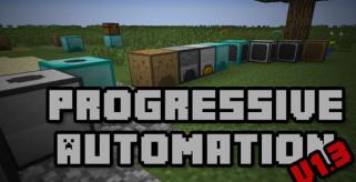 Progressive Automation Mod para Minecraft 1.7.2
