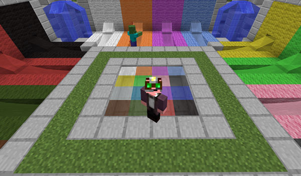 Rainbow Liquids Mod para Minecraft 1.7.2 y 1.7.10