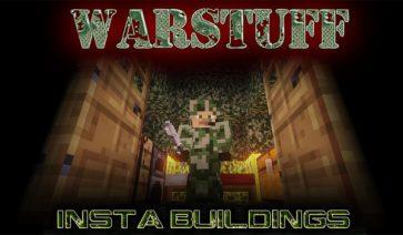 WarStuff Mod para Minecraft 1.7.2 y 1.7.10