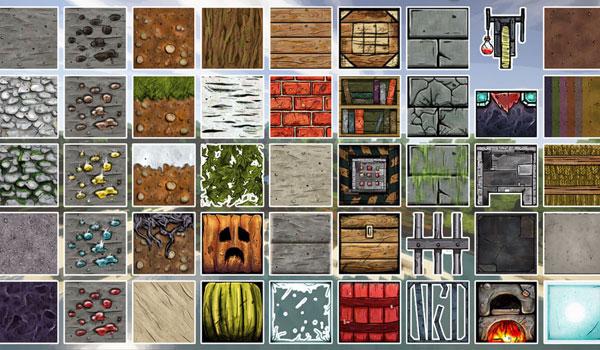 imagen donde podemos ver las nuevas texturas que añade el pack bordercraft 1.8.