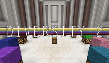 Diversity 2 Map para Minecraft 1.8