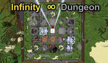 Infinity Dungeon Map para Minecraft 1.9