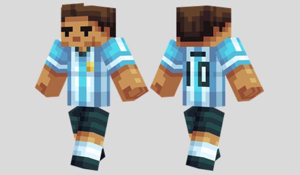 Messi Skin para Minecraft
