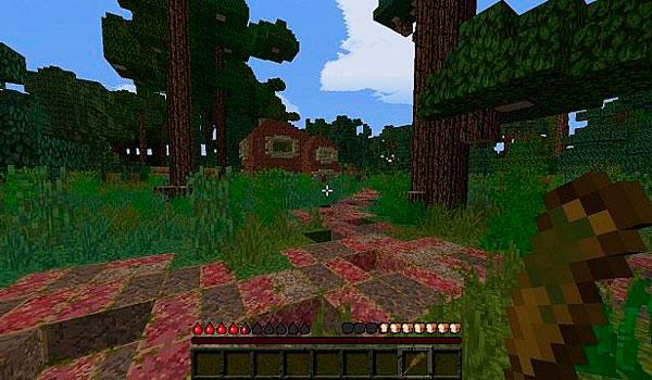 imagen de una de los zonas desoladas del mapa the last of us 1.8.
