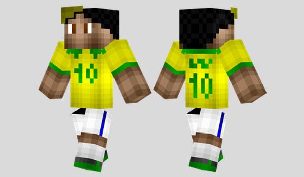 Neymar Skin para Minecraft