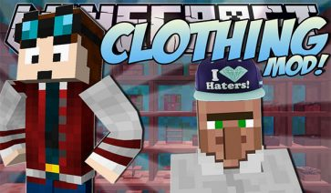 ClothingCraft Mod para Minecraft 1.7.10