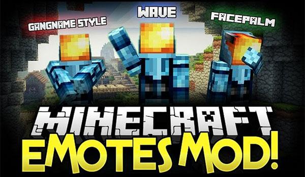 Emotes Mod para Minecraft 1.7.10