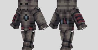 Iron Man MK1 Skin para Minecraft