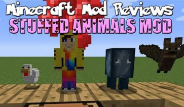 Stuffed Animals Mod para Minecraft 1.7.10