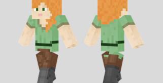 Alex Skin para Minecraft