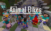 Animal Bikes Mod para Minecraft 1.8 y 1.8.8