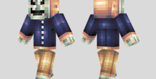 Mask of Hate Skin para Minecraft