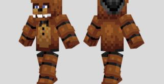 Freddy Fazbear Skin para Minecraft