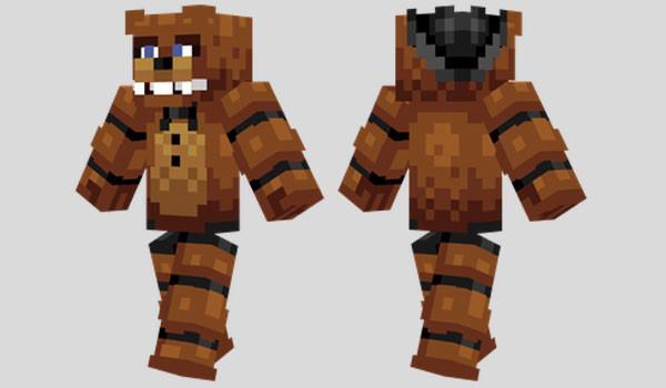 Freddy fazbear skin para minecraft descargar freddy fazbear skin