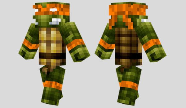 Michelangelo Skin para Minecraft