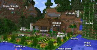 Plant Mega Pack Mod para Minecraft 1.8