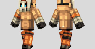 Psycho Skin para Minecraft