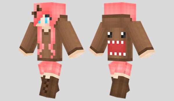 Domo Girl Skin para Minecraft