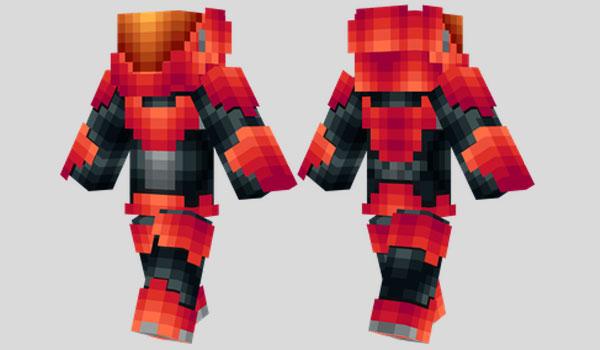 EVA Armour Skin Para Minecraft MineCrafteo - Skins para minecraft pocket edition de halo