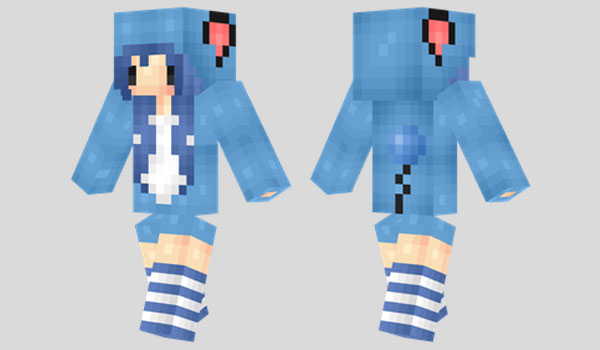 Marill Girl Skin para Minecraft