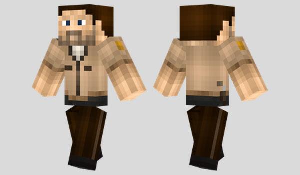 Rick Grimes Skin para Minecraft