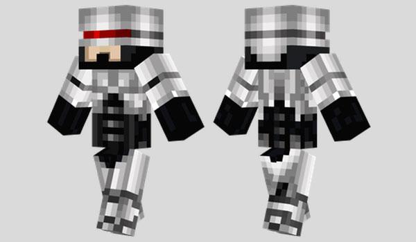 Robocop Skin para Minecraft