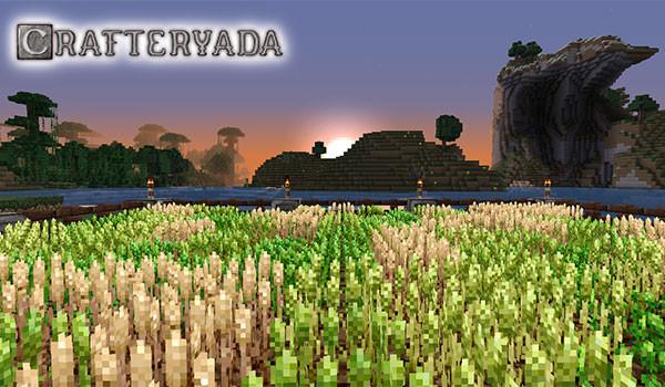 Crafteryada Texture Pack para Minecraft 1.8