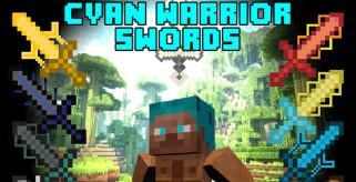 Cyan Warrior Swords Mod para Minecraft 1.7.10