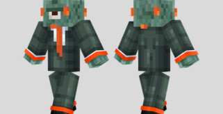 Guardian Suit Skin para Minecraft