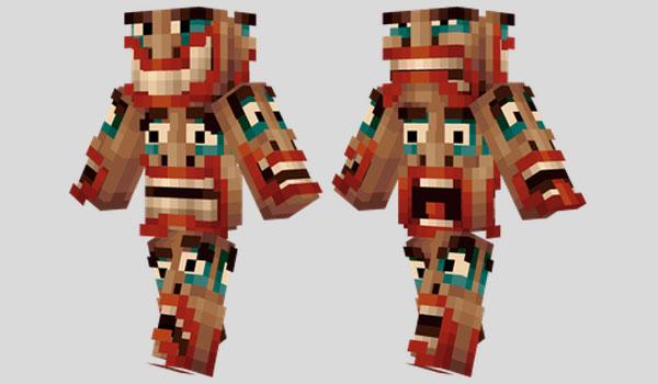 Totem Skin para Minecraft