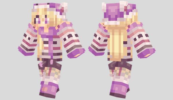 Winter Hat Skin para Minecraft