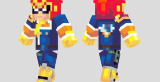 Captain Falcon Skin para Minecraft