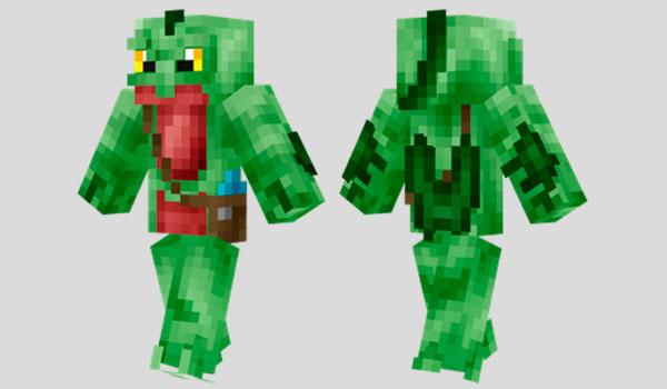 Grovyle Skin para Minecraft