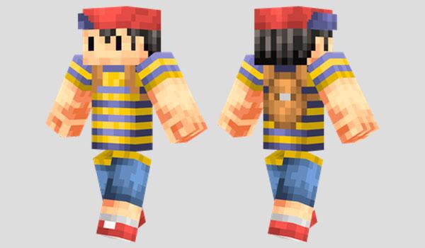 Ness Skin para Minecraft