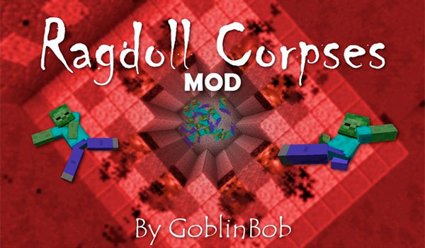 Ragdoll Corpses Mod para Minecraft 1.8