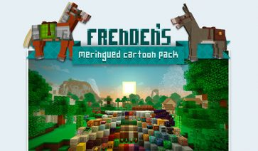 Frenden's Meringued Cartoon Texture Pack para Minecraft 1.9 y 1.8