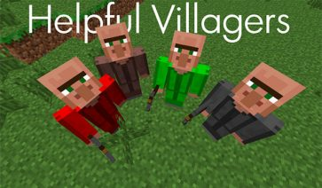 Helpful Villagers Mod para Minecraft 1.7.10