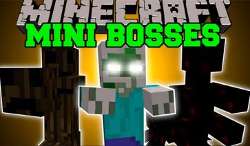 Mini-Bosses Mod para Minecraft 1.7.2 y 1.7.10