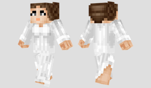 Princess Leia Skin para Minecraft