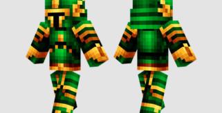 Green Knight Skin para Minecraft