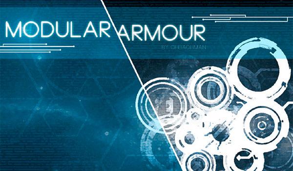 Modular Armour Mod para Minecraft 1.7.10