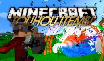 Touhou Items Mod para Minecraft 1.7.10