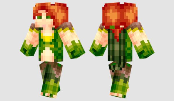 Windranger Skin para Minecraft