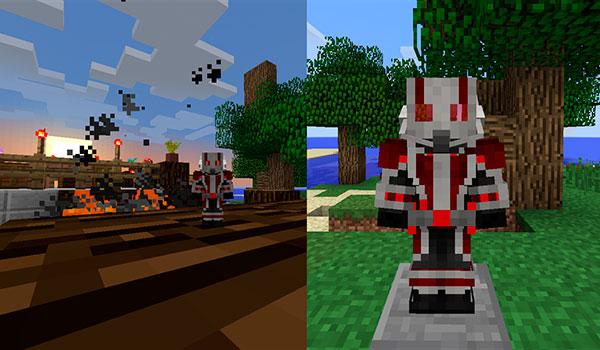 imagen donde podemos ver la armadura que añade el mod antman 1.7.10.