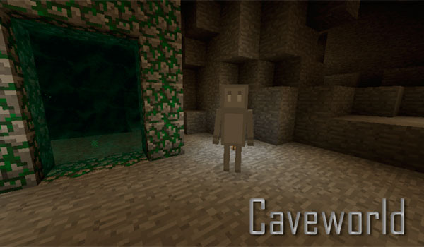 Caveworld 2 Mod para Minecraft 1.7.10