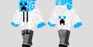 Cool Creeper Skin para Minecraft
