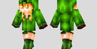 Cupa the Creeper Skin para Minecraft